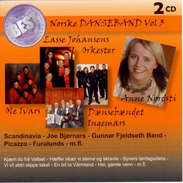 45d211451 Best, Norske Danseband Vol. 3» : Diverse Artister : Big Box Records